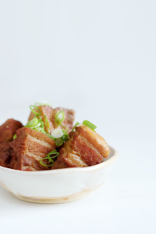 Japanischer Geschmorter Schweinebauch Buta No Kakuni Japanese