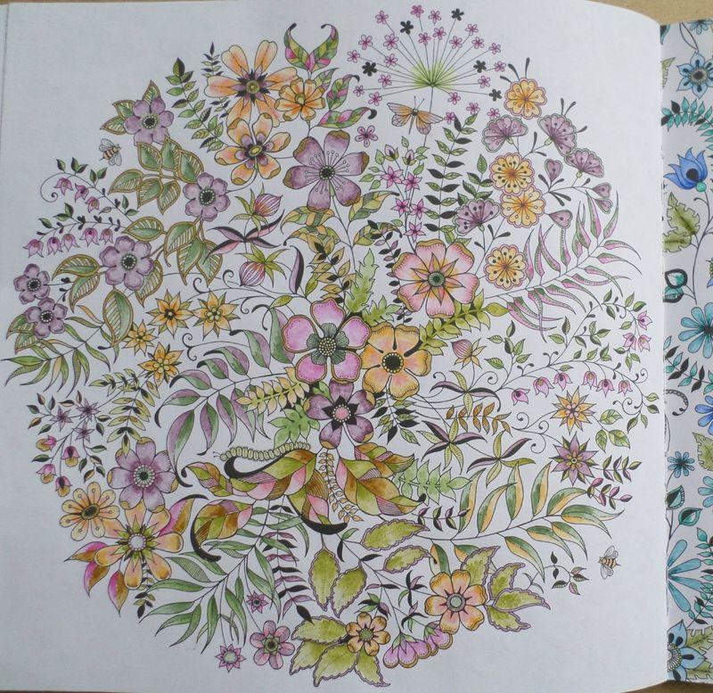 Livre Coloriage Jardin Secret Steffy Elsass Créa