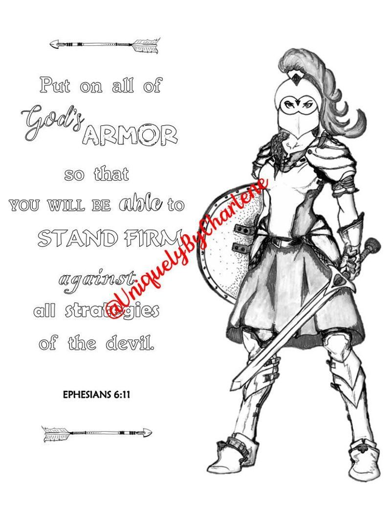 Armor Of God Coloring Pages Fresh Full Armor Of God Coloring Pages
