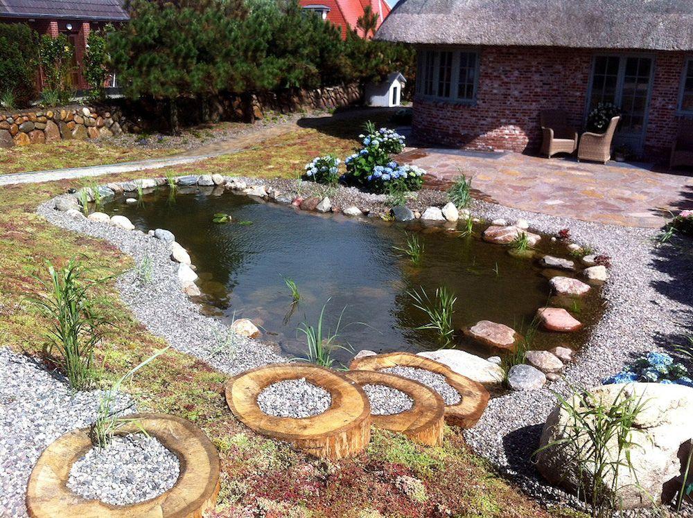 Ein Schöner Garten erfüllt mich immer mit einer inneren Ruhe Der - schone garten mit teich
