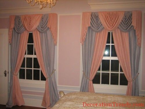 grey Bedroom Curtain For Small Windows
