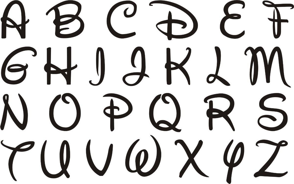 letras | Male Minnie | Pinterest | Letras, Caligrafía y Walt disney