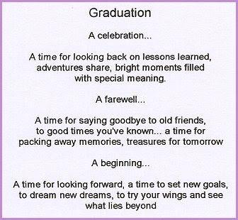 Short Graduation Poems 6
