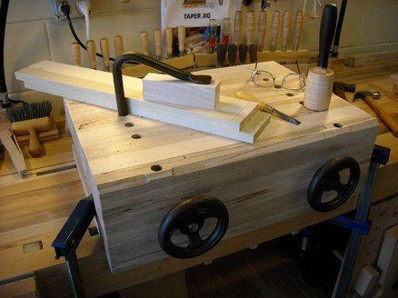 Bench On Bench Bench Raiser Moxon Vise Workshop In