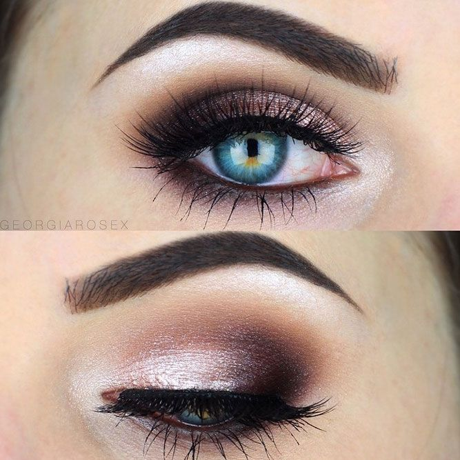 54 Best Ideas Of Makeup For Blue Eyes With Images Lashes