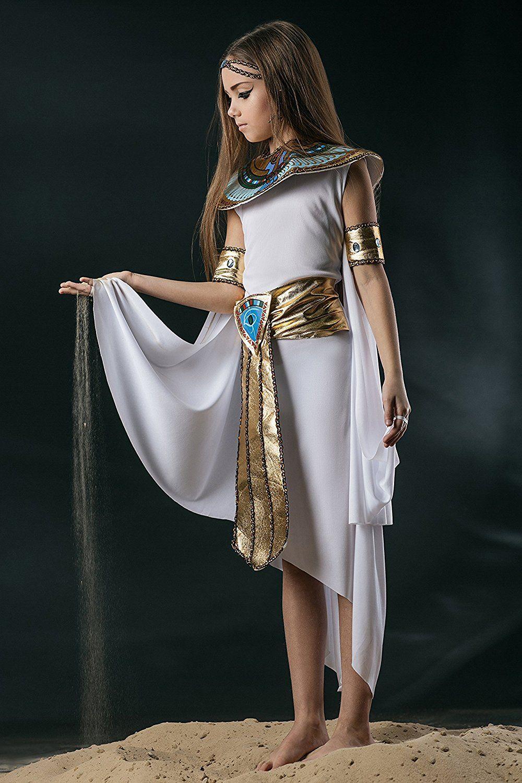 amazon: kids girls cleopatra halloween costume egyptian princess