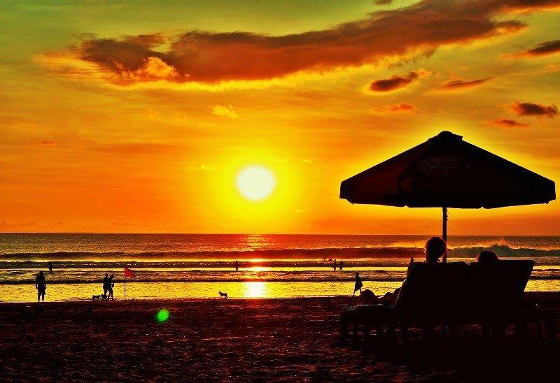 13 Pemandangan Lukisan Pantai Sunset Keindahan Pemandangan Sunset Di Pantai Kuta Katalog Tempat Download Berlian Lukisan Di 2020 Pemandangan Pantai Liburan Pantai