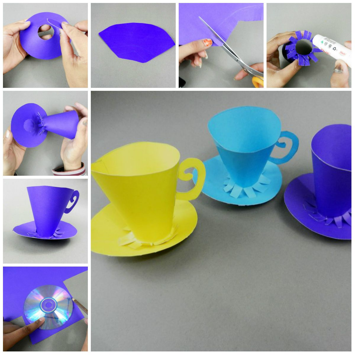 Chart Paper And Make Cups These Can Be Used For
