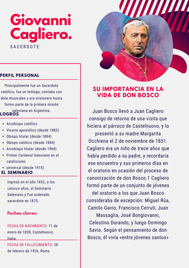 Giovanni En 2020 Vida De Don Bosco Juan Bosco Perfil Personal