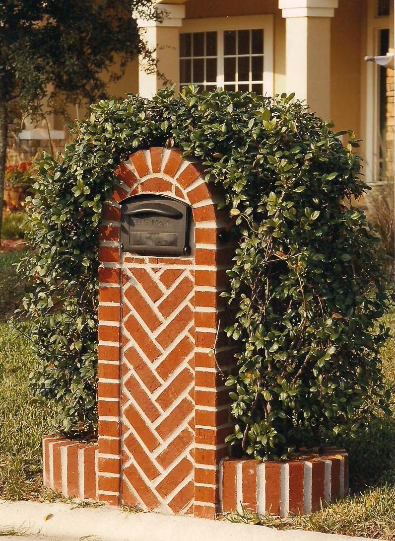 Custom Mailbox Us Custom Work Brick Mailboxes Stucco