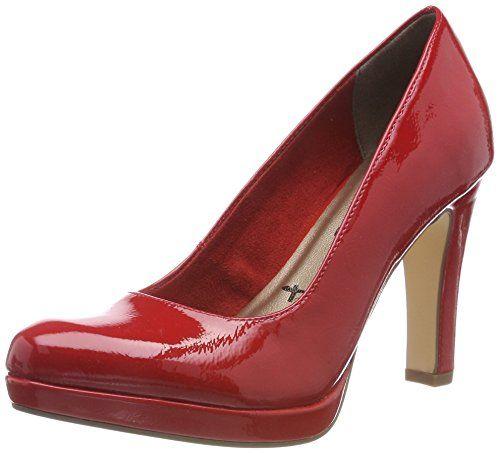 Patent Tamaris Rouge Femme Eu 22426 chili 41 520 Escarpins w1HASZ