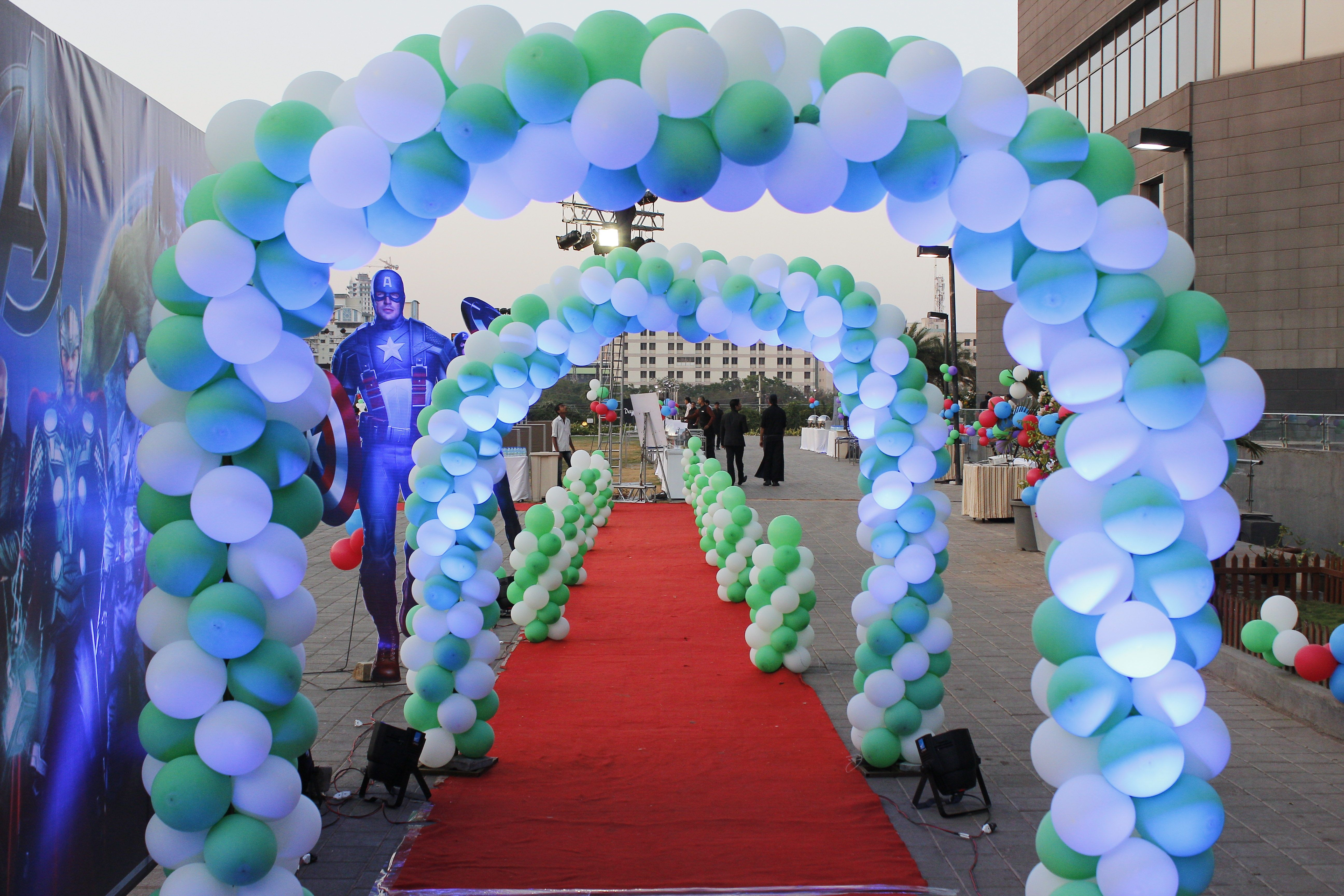 Balloon Decoration in Pune Events Pinterest