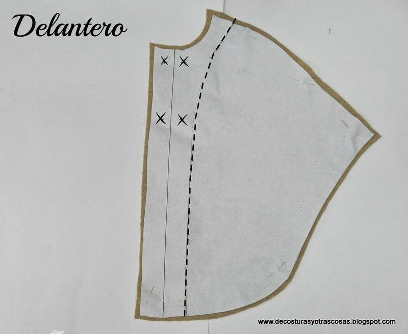 De costuras y otras cosas: CAPA NIÑA | poncho