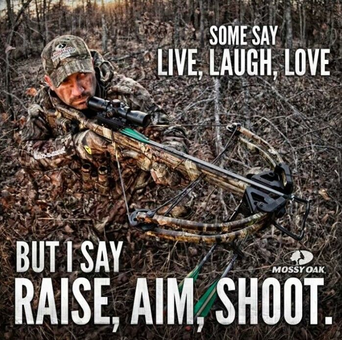 Raise, Aim, Shoot. | Hunting Humor | Hunting quotes, Deer ...