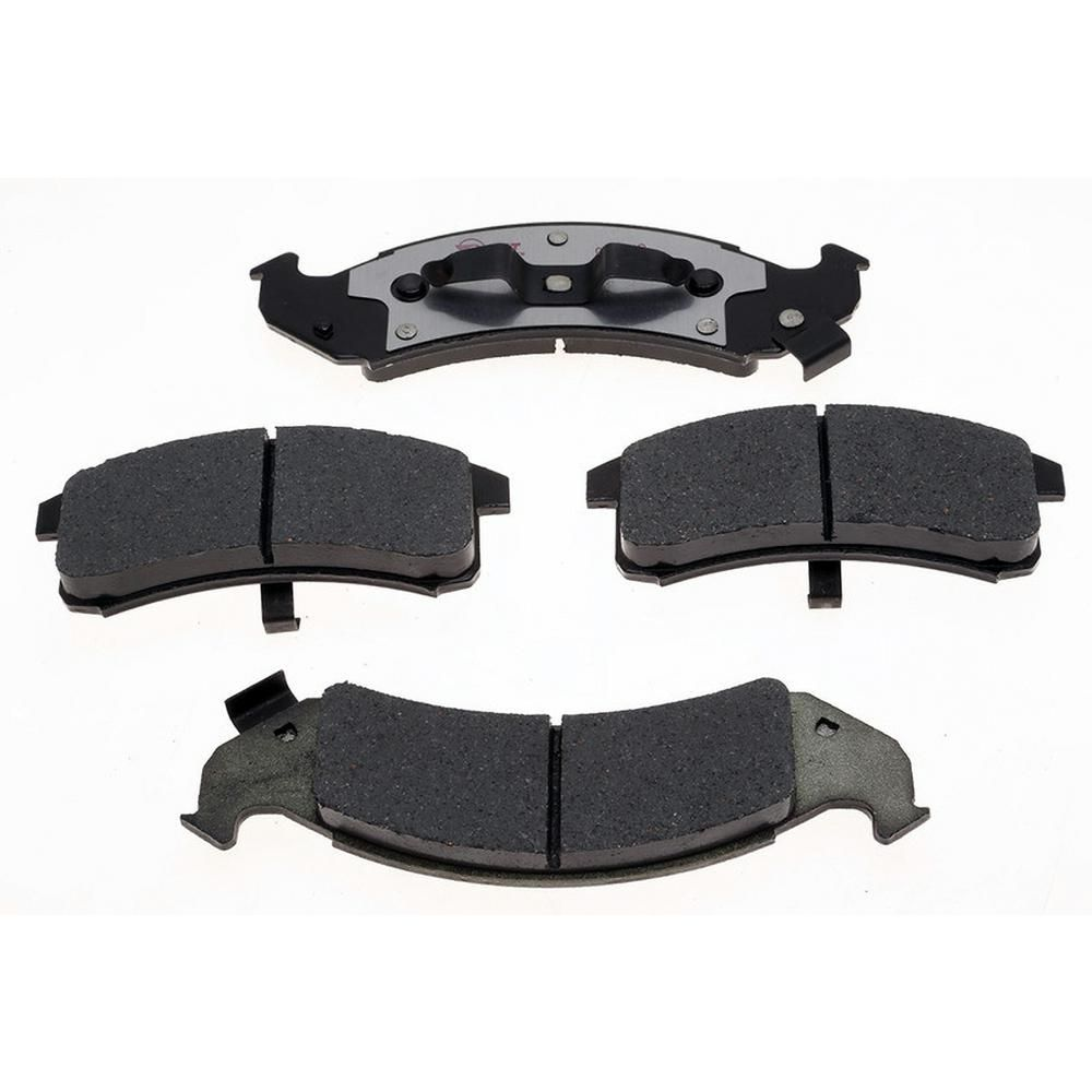Raybestos Brakes Enhanced Hybrid Technology Disc Brake Pad Front Eht623 Brake Pads Ceramic Brake Pads Chevrolet Lumina