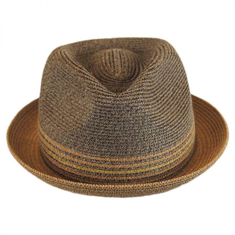 c0326738908d1 Hooper Toyo Straw Blend Trilby Fedora Hat