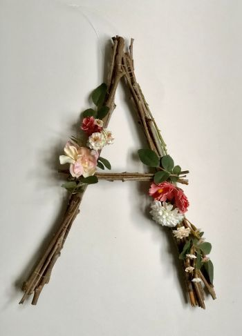 Photo of Twig Letters For Darling Home Decor