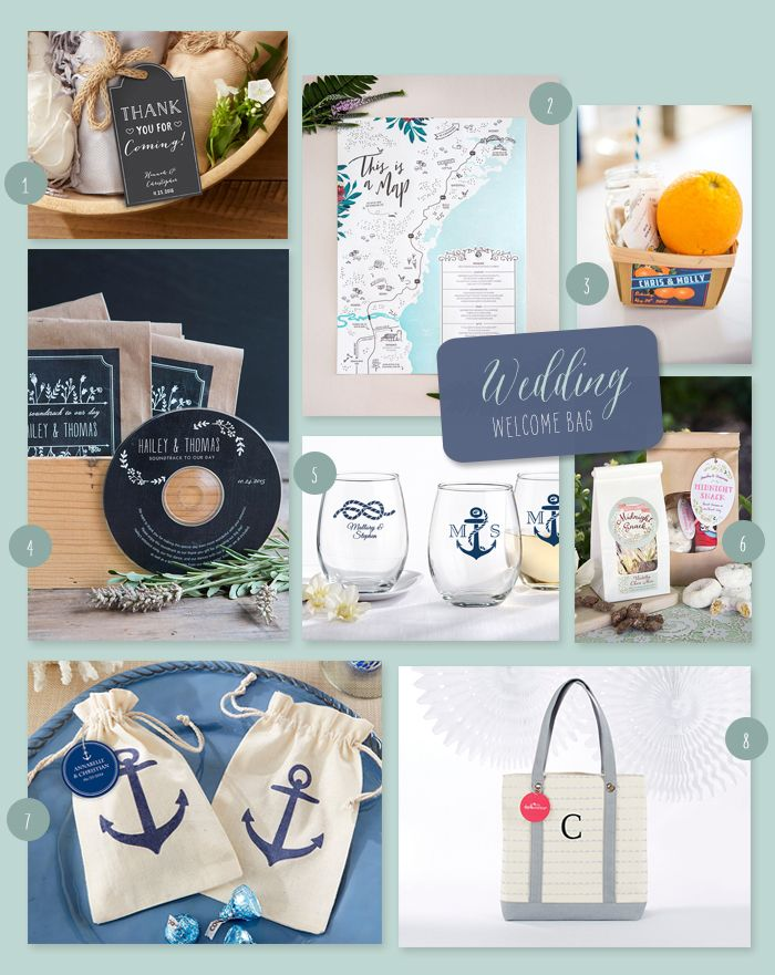 8 Items To Include In Destination Wedding Welcome Bags Destination Wedding Welcome Bag My Wedding Favors Wedding Welcome Bags