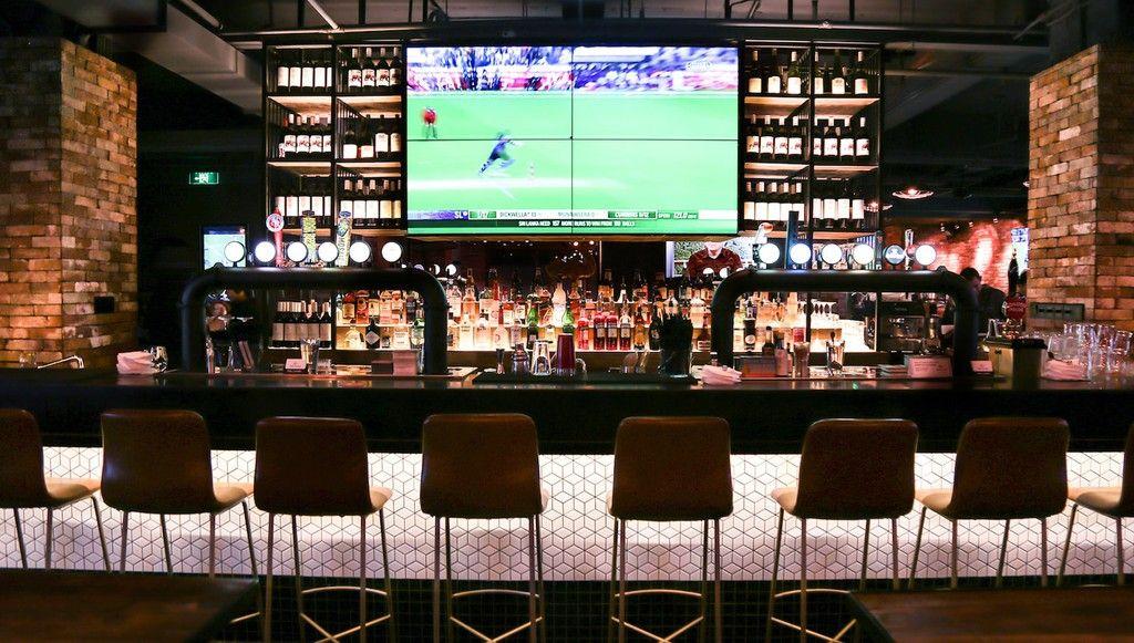 The 10 Best Sports Bars in Shanghai Sport bar design