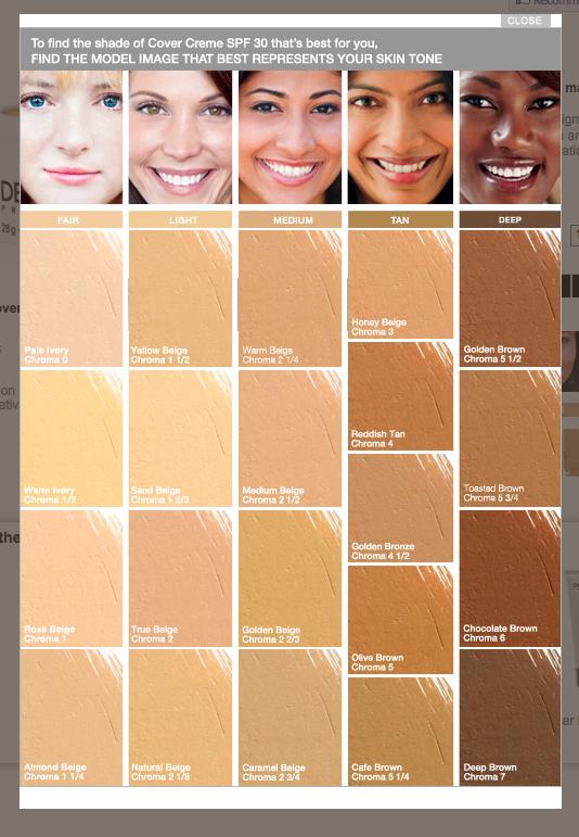 Dermablend Shades Skin Tones Dermablend Beige Skin Tone