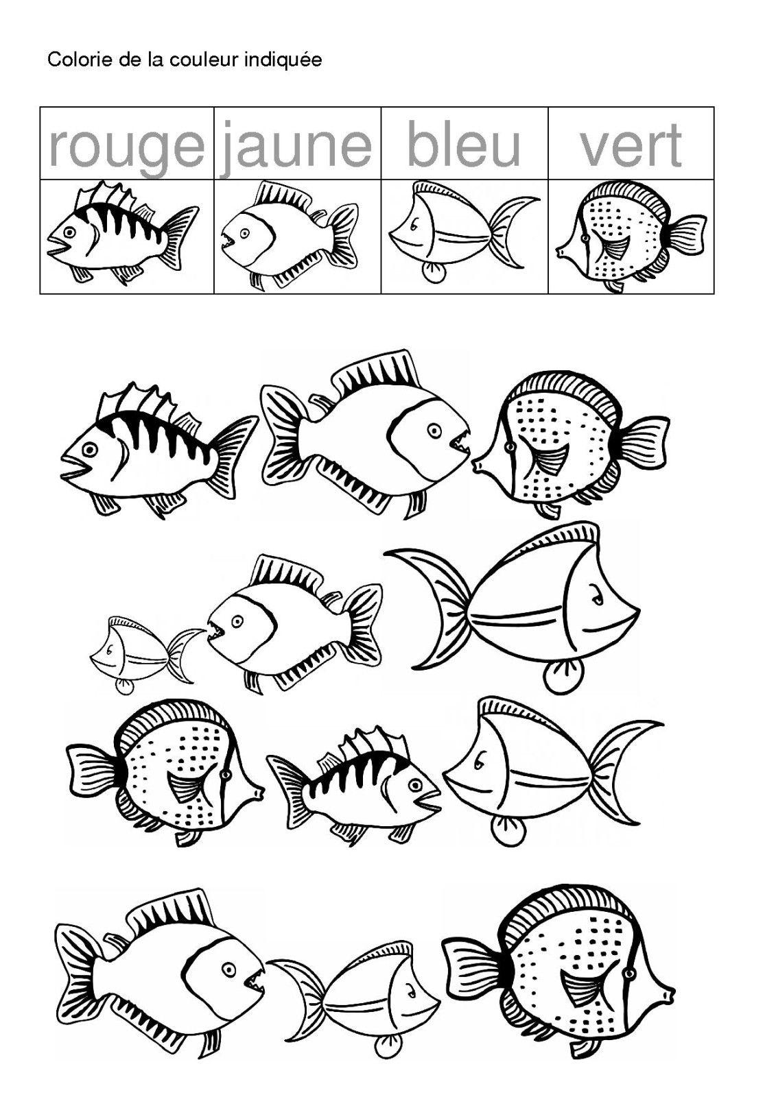 Poisson poissons fish activities rainbow fish activities et rainbow fish - Poisson avril maternelle ...