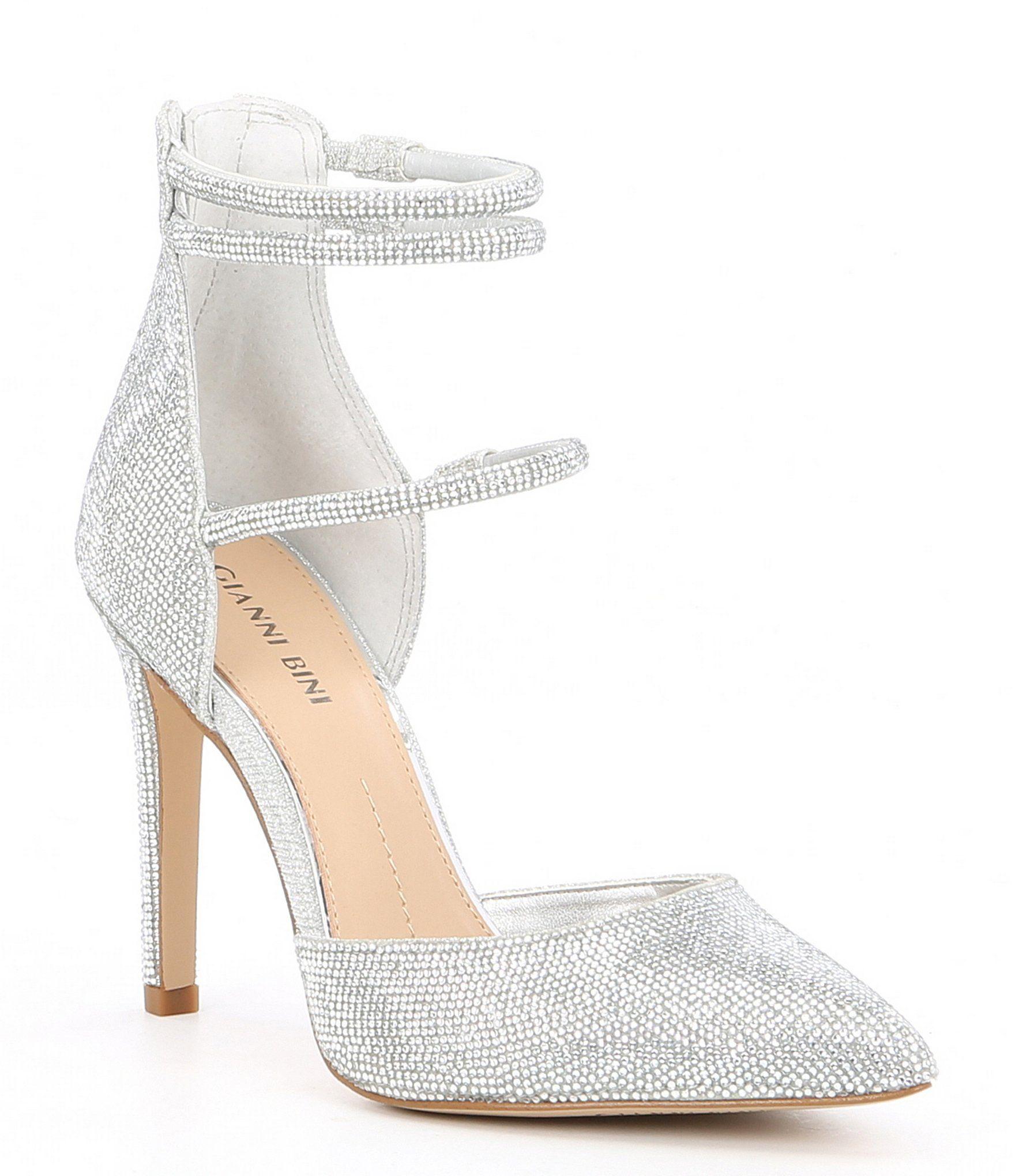 Dillards Wedding Gifts: Gianni Bini Anyssah Strappy Jeweled Pumps In 2020