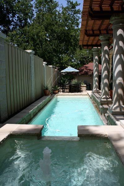 A Backyard Pool Goes Eco Salt As A Chlorine Alternative Dwelling
