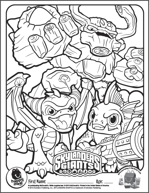 Adaptable image pertaining to skylanders printable