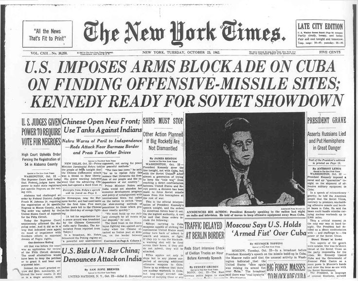 jfk cuban misssile crisis essay The cuban missile crisis can help us policymakers understand what to do about iran, north korea, china, and presidential decision-making in general.