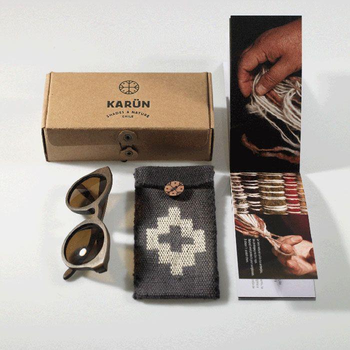 Papp-Verpackung, Stoffbeutel, Prospekt + Produkt