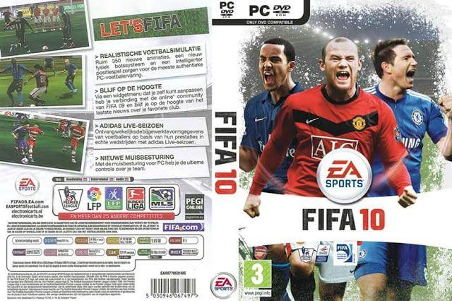 تحميل لعبه كره القدم Fifa 2010 للكمبيوتر كامله بحجم 265