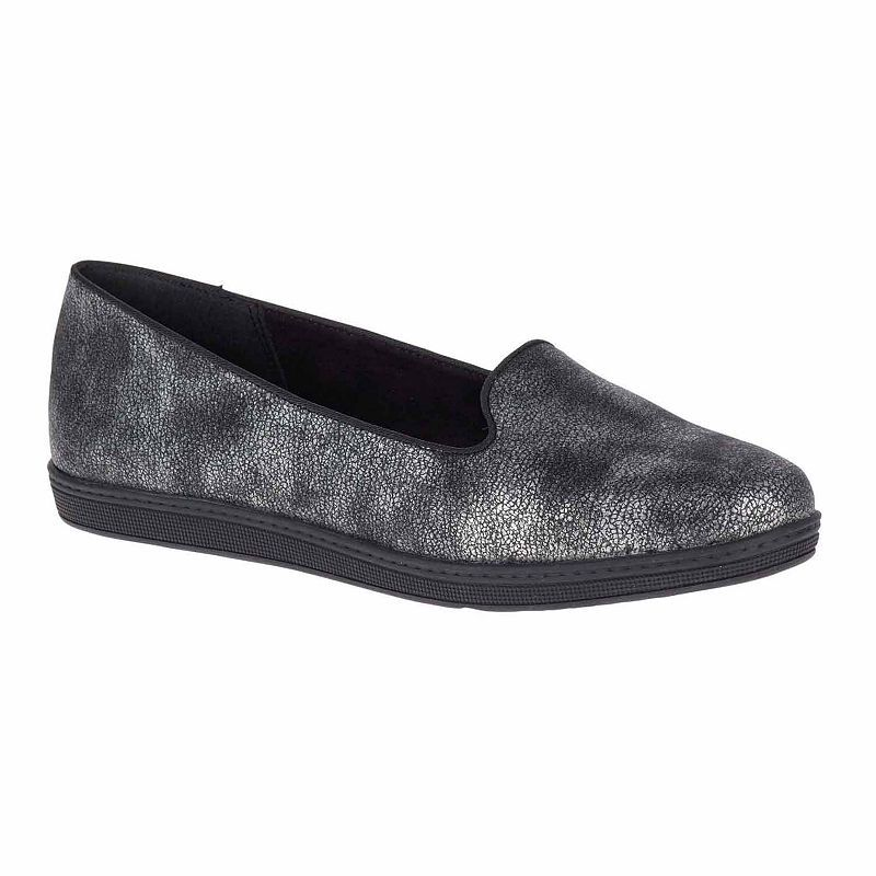 Hush Puppies Faline Womens Loafers Slip On Round Toe Loafers For Women Loafers