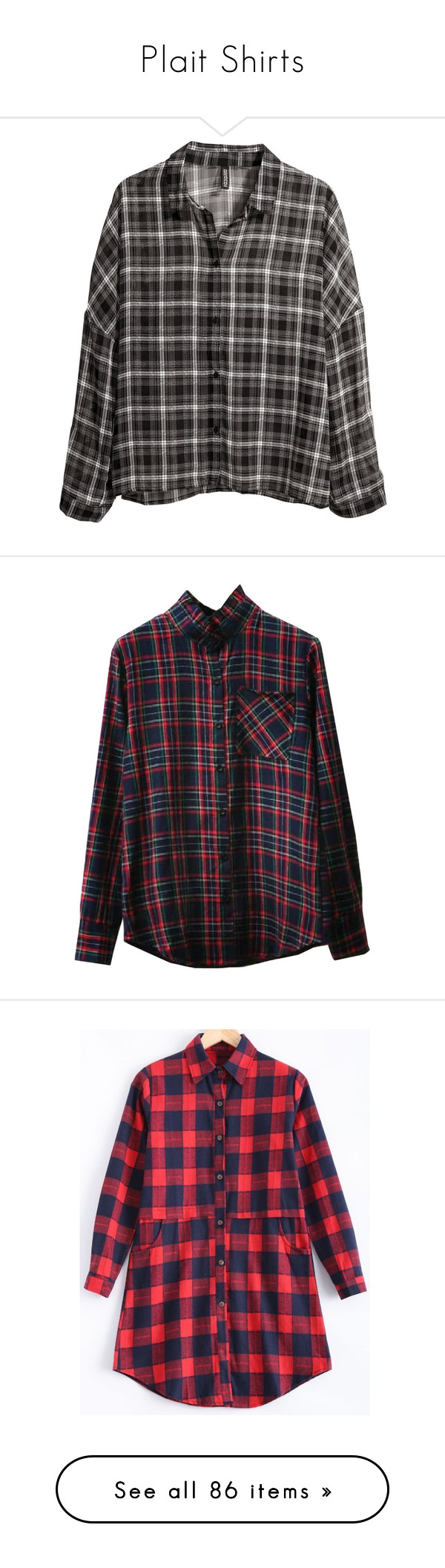 """""""Plait Shirts"""" by janjanzira-1 ❤ liked on Polyvore featuring tops, blouses, shirts, flannels, black, flannel shirts, extra long sleeve shirts, pattern shirt, pattern blouses and long-sleeve shirt"""