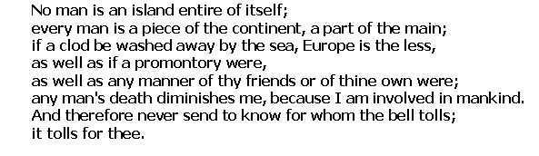 Is Regionalism Really A Good Thing  Poetrywords  Pinterest  No Man Is An Island From An Essay By John Donne