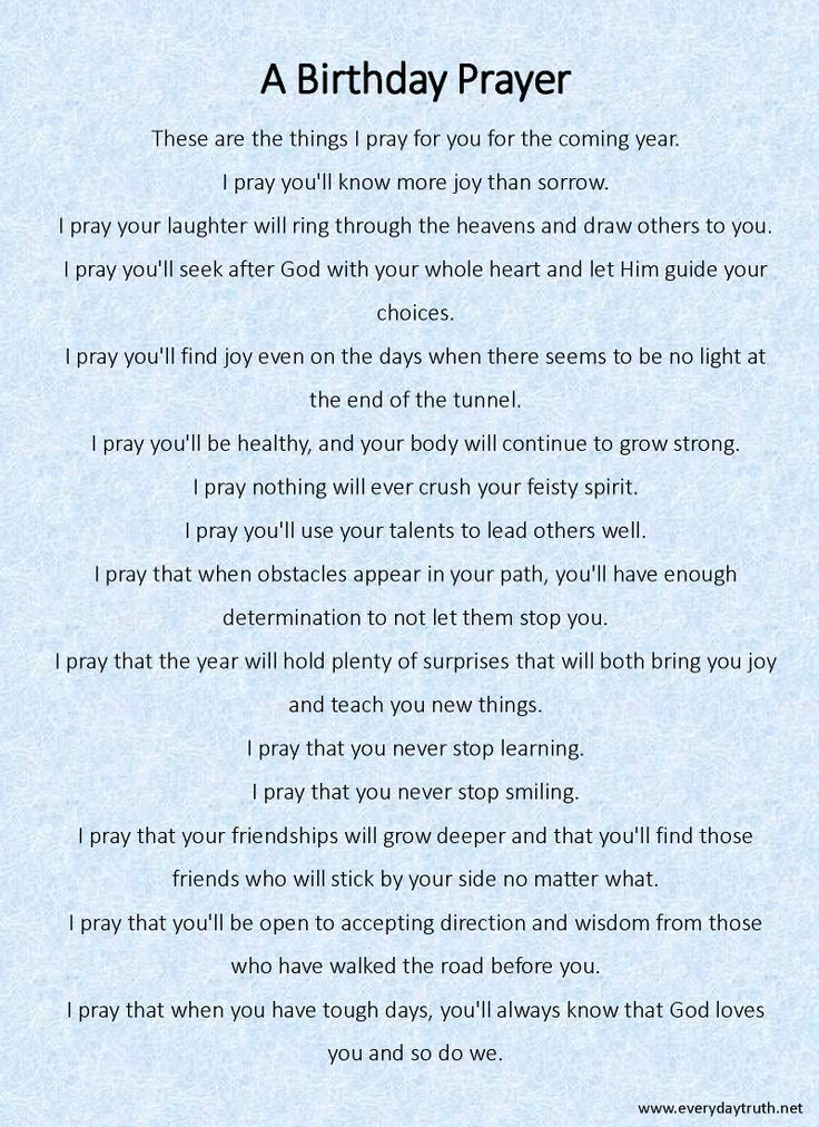 A Birthday Prayer From Everyday Truth She Writes Her Children Each Year What Great Idea