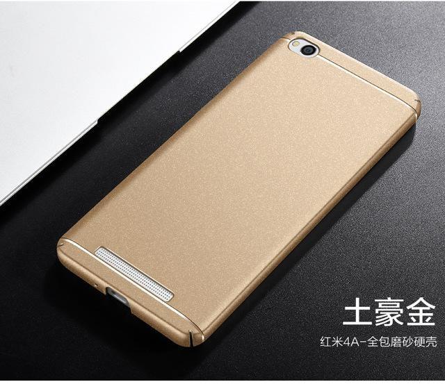 Redmi 4A 4 A Case Luxury Plastic PC Back Case For Xiaomi Redmi 4A 4 ...