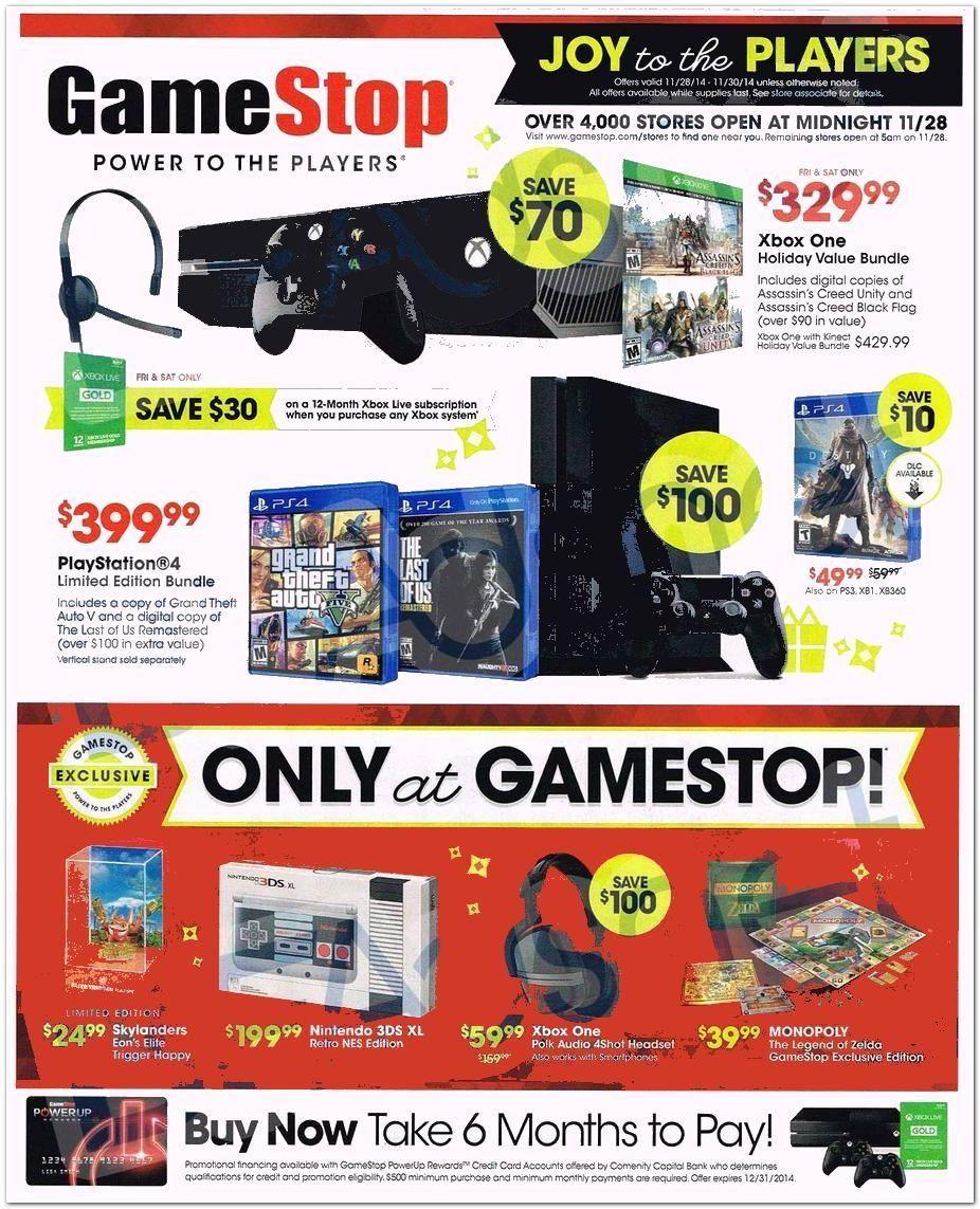Gamestop Com Black Friday Flyer 2014 Page 1 Black Friday Flyer Black Friday Ads Games Stop