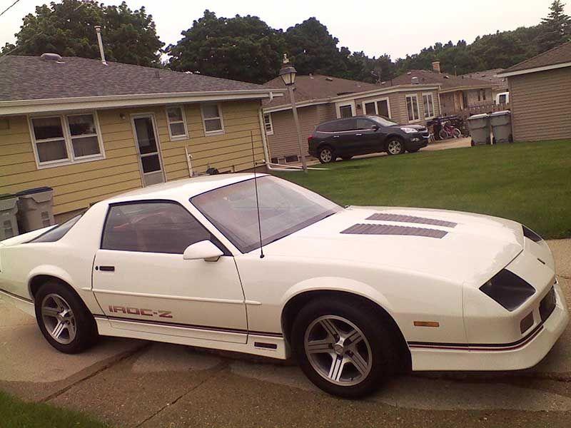 white 1988 chevrolet camaro iroc z hatchback 2dr for sale camaro rh pinterest com 1990 Chevy Camaro 1994 Chevy Camaro