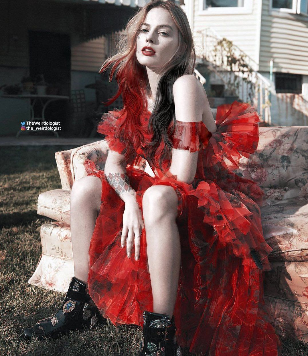 819 Otmetok Nravitsya 2 Kommentariev Dc Marvel Random Dcmarvel Rdm V Instagram Harley Freakin Quinn Cosplay Feminino Arlequina Margot Robbie