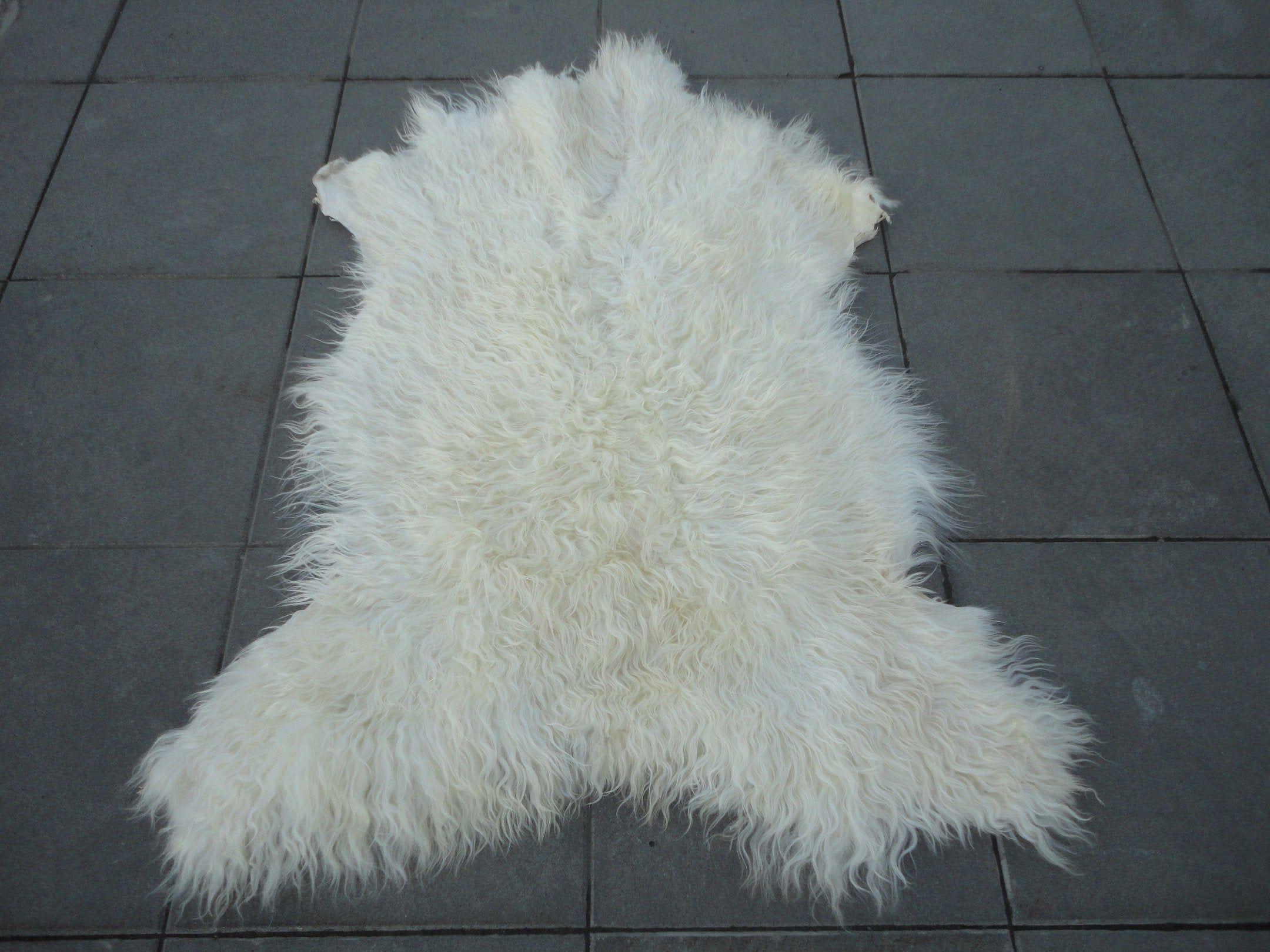 organic goat skin natural cozy pet bed goatskin pelt office floor carpet sofa seat cover 3 8 x 3 goat throw bio f hayvan derisi hali evcil hayvanlar hayvan
