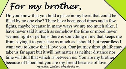 For My Brother I Will Always Love You Sister Quotes Brother Sister Quotes My Brother Quotes