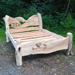 Driftwood Fairy Bed