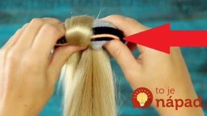 f58bb4611303 Nekupujte drahé vlasové doplnky  Perfektný účes vytvoríte za 42 sekúnd