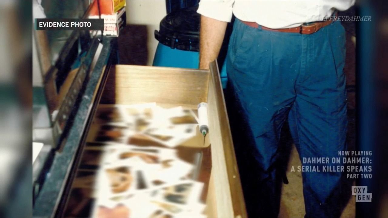 Jeffrey Dahmer Polaroids