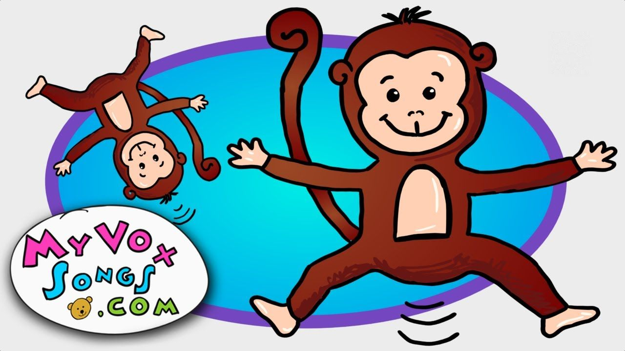 Five Little Monkeys Jumping On The Bed Five Little Monkeys 5 Little Monkeys Little Monkeys