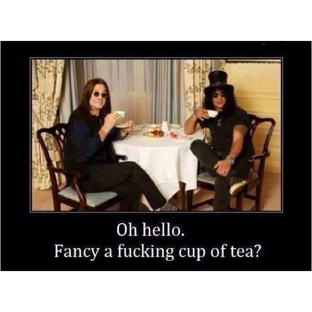 Slash and Ozzy...lol