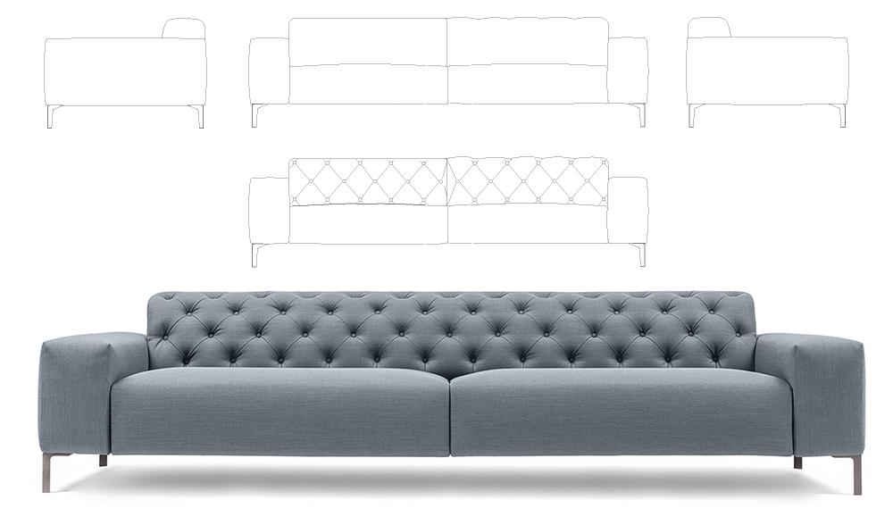 Rinnovare lo spazio living: divani e poltrone ...