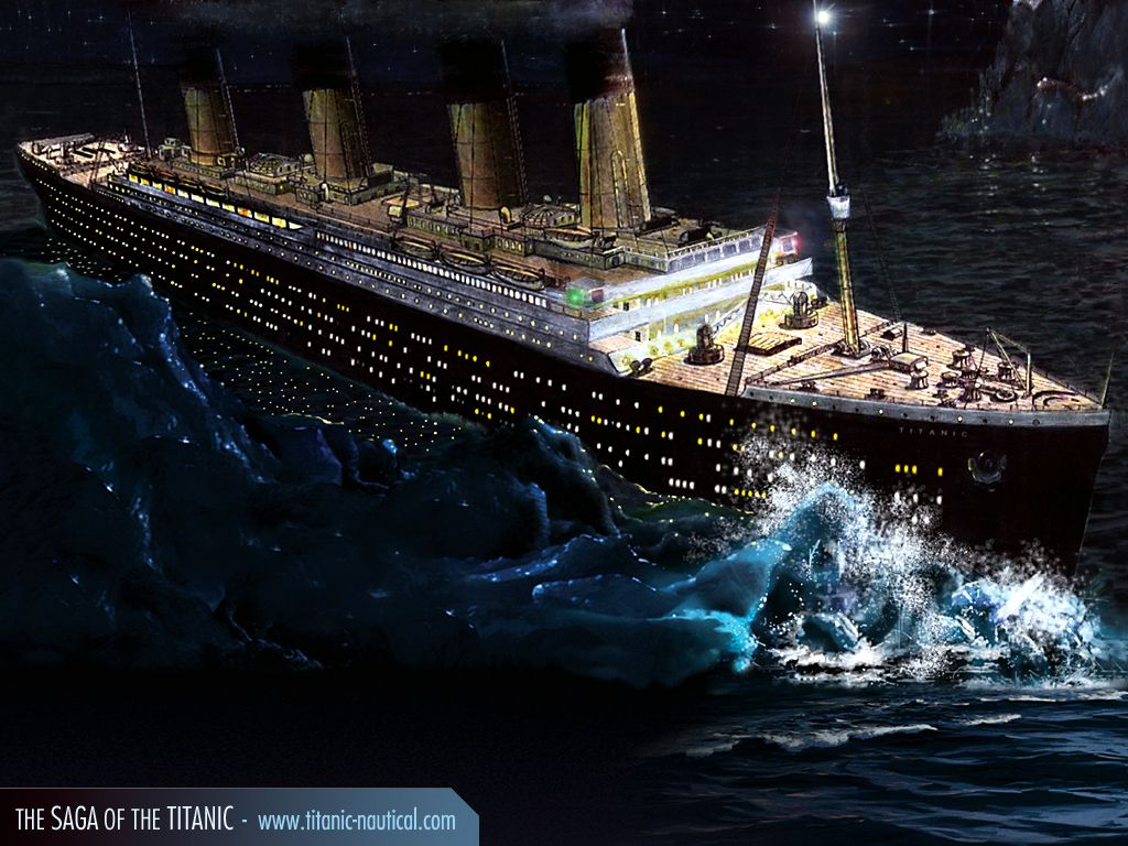 The Titanic Movie Is Based On Real Fact Which Was Happened In April Big Ship Hit Iceberg And It Became One Of