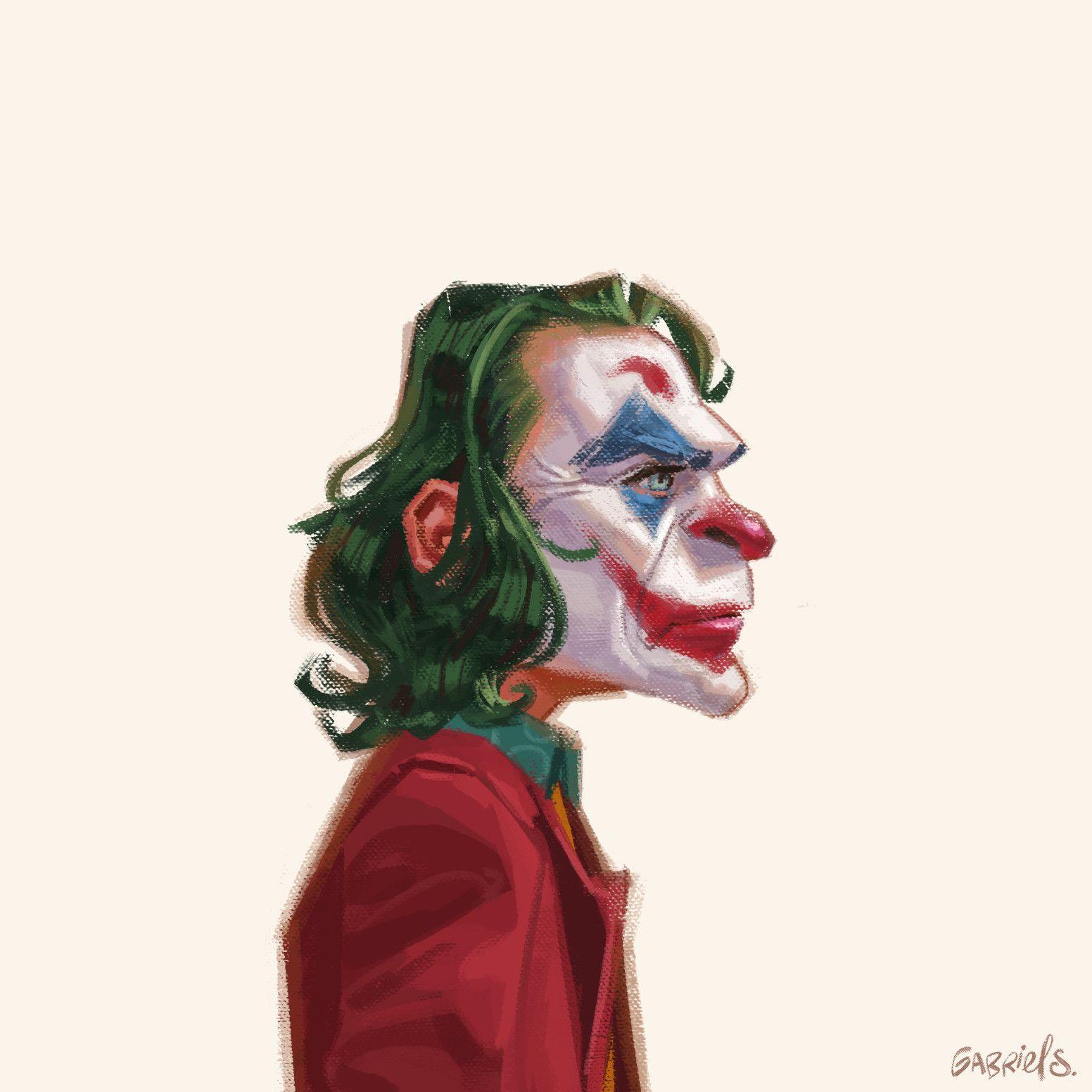 Joker Joaquin Phoenix by Gabriel Soares Бэтмен
