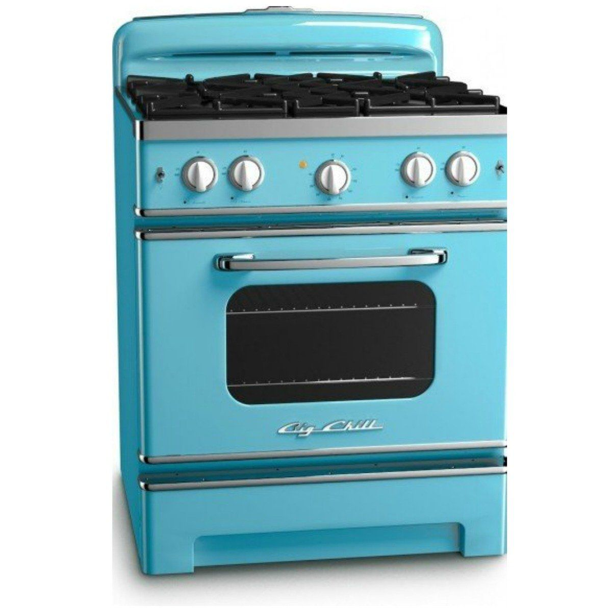 Retro Kitchen Stoves Charcoal Cabinets Such Amazing Vintage Styling For The Home Pinterest